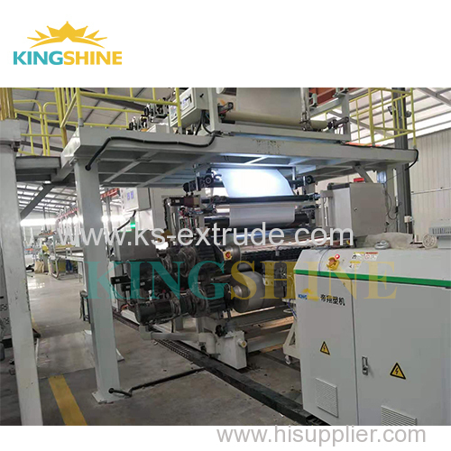 Stone Plastic Composite Flooring Machine