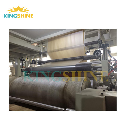 Stone plastic composite floor extrusion machine line