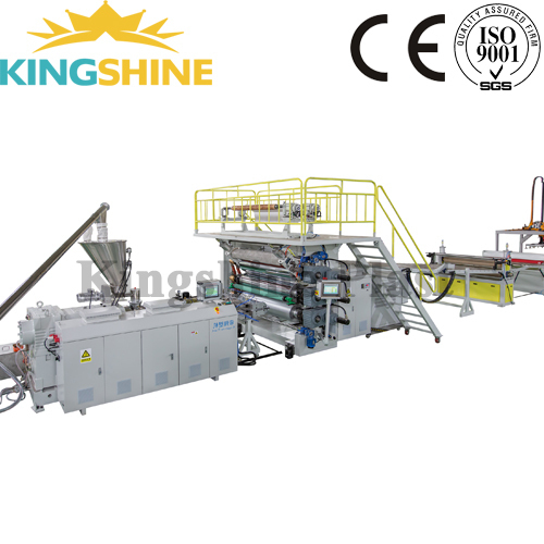 pvc laminate sheet production line pvc sheet extrusion making machine line