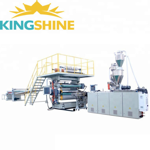 PVC laminate sheet extrusion production line