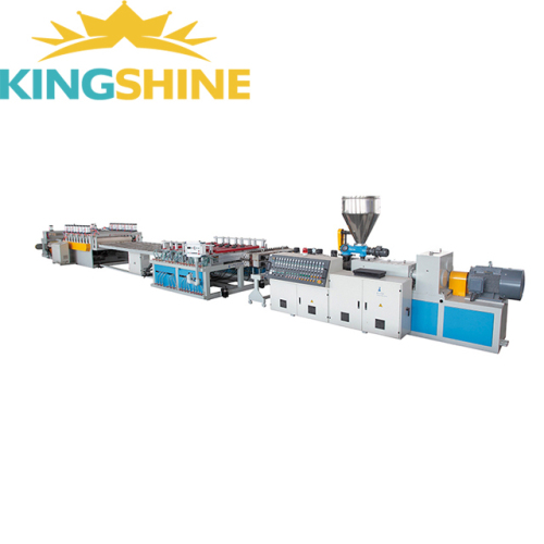PVC crust foam board machine line