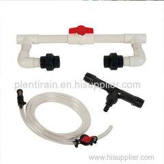 Venturi Fertilizer Injector Economic drip tape Drip Irrigation Accessories supplier