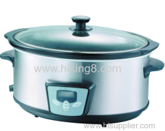 2020 New 6QT 330w Electric Slow Cooker