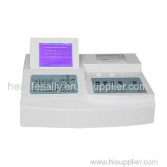 Good Quality hot sale cheap 2 channel semi-auto blood coagulation analyzer with low reagent consumption