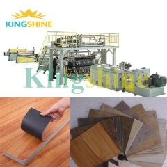 High end LVT Floor PVC Vinyl Floor Production Line Extrusion Machine