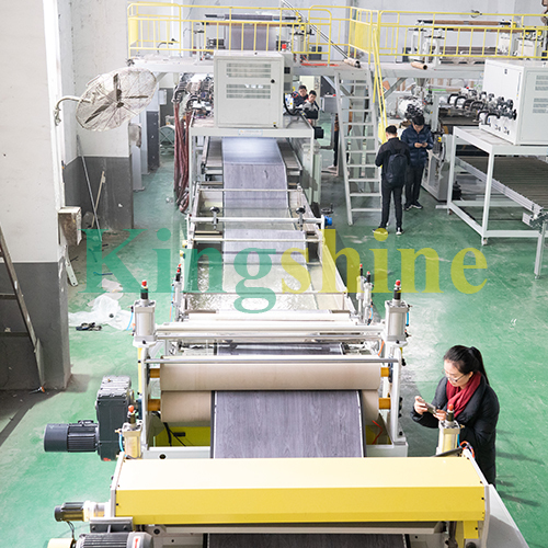 High Level LVT Vinyl Foor Production Line Extrusion Machine