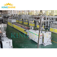 WPC PVC door profile production line