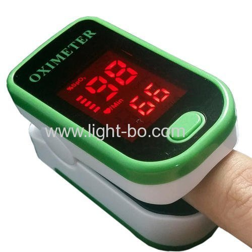 Hot sale ultra thin 2.8mm ONY customized Red SMD LED Display for Finger Pulse Oximeters