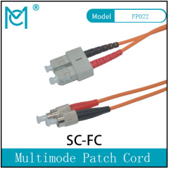 Professional Fiber Optic Singlemode Patch Cord SC/FC