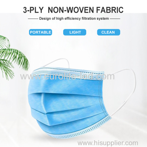 Delivery 3 ply Disposable Face Mask