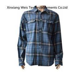 Cotton Frc Fire Retardant Shirts / Safety Flame Retardant Workwear 220gsm