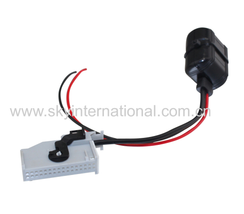 Bluetooth RNS-E Navigation Aux Input Adaptor 32-Pin For Audi A3 A4 A6 A8 TT