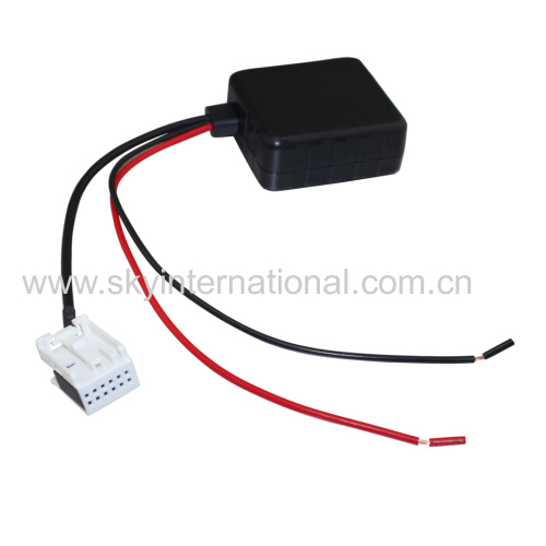 Bluetooth Module Aux-in Adapter For Benz With Filter