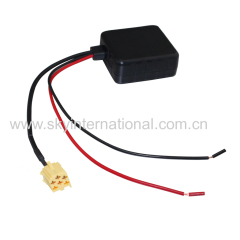 Bluetooth module for Alfa Romeo Fiat Lancia radio stereo Aux cable with Filter