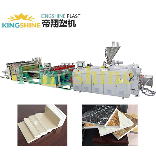BIG CAPACITY pvc free foam board production line PVC free foamed sheet production line Decoration Sheet Production Line