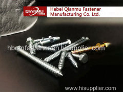 Factory Price High Quality Manufacturer Flat Head Hex Head Wood Screw hdg wood screw
