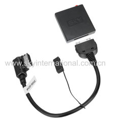 Bluetooth Module For Mercedes Benz C ECLS GL ML S Class Connector Wireless Music Play Track Up Down