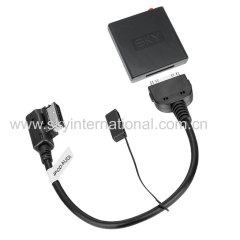 Bluetooth Module For Audi VW AMI MDI Connector Wireless Music Play Track Up Down