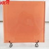 Tempered silk screen printing glass manufacturer ceramic frit color painted tempered glass factory