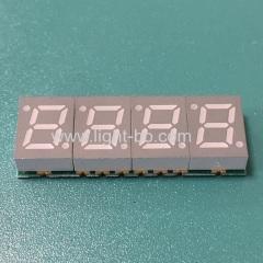 ультратонкий 4-значный 7-мм smd 7-сегментный светодиодный дисплей общий катод для приборной панели