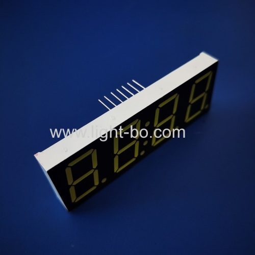 Ultra white 0.8inch 4 Digits 7 Segment LED Clock Display common cathode for clock timer