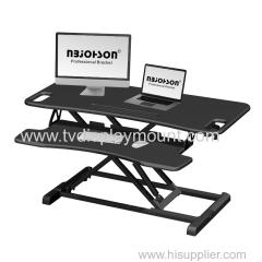 LCD Monitor Desktop Mount for three monitors
