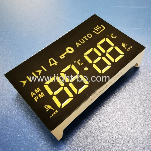 Low cost white color 4 Digit LED Display common cathode for oven timer control
