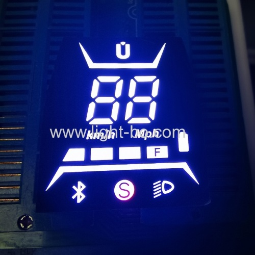 Ultra white/red/yellow Customized 7 segment led display module for Electric Scooter