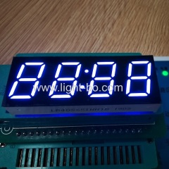 "0.56"" clock display; white clock display;led clock display; 4 digit clock display"