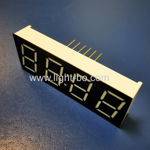 Ultra white 4 Digits 0.56inch common anode 7 segment led clock display for home appliances