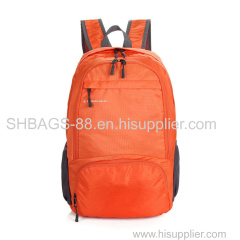 Folding leisure travel backpack laptop bags school bags