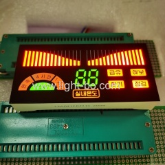 air conditioner display;custom display;customized display;multicolour display