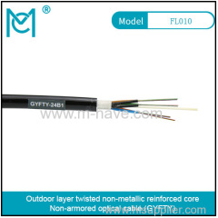Outdoor all-dielectric self-supporting optical cable GYFTY series