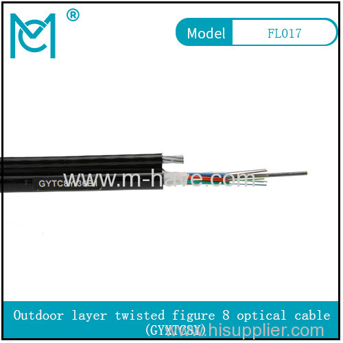 Outdoor all-dielectric self-supporting optical cable GYXTC8Y series