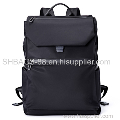 Nylon waterproof travel backpack college school laptop backpack