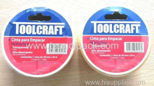 Packing Tape 48mmx50M Transparent Clear