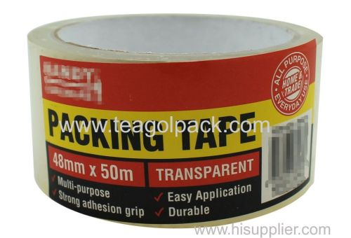 Multi-Purpose Packing Tape 48mmx50M Transparent