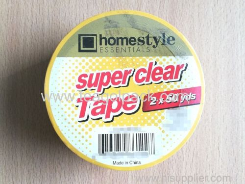 Super Clear Packing Tape 2 x50Yads