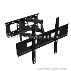 600*400mm Metal lcd tv wall mount swivel bracket