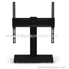 Rentliv Universal TV Stand-Swivel Tabletop TV Base with Mount for 32-55inch LED LCD Plasma Flat and Curved Screen TVs