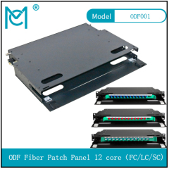 ODF fiber patch panel-12 core Optical fiber junction box distribution box