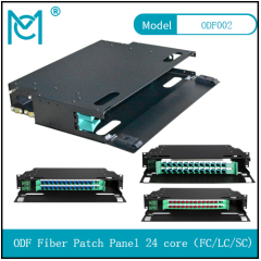 ODF fiber patch panel-24 core Optical fiber junction box distribution box