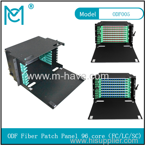 ODF fiber patch panel -96ports Optical fiber junction box distribution box