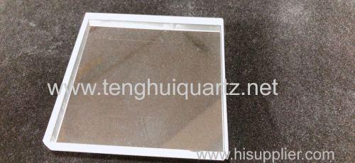 Transparent quartz sheet quartz plate