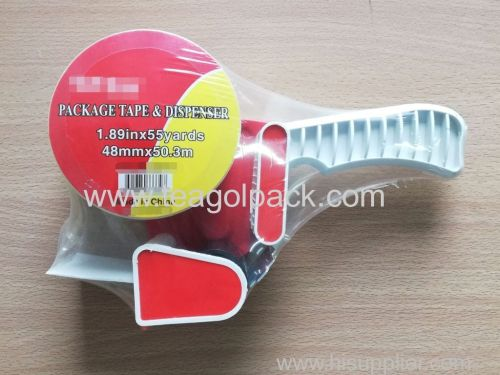 Package Tape & Dispenser Set 48mmx50.3M