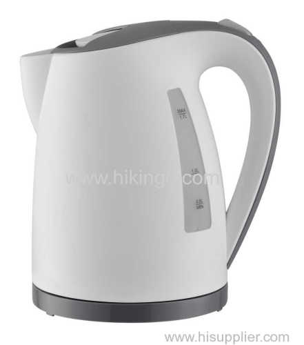 1.7L Electric Kettle with Concealed stainless steel heating element