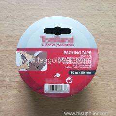 Packing Tape 50mmx50M Clear Adhesive Carton Sealing Tape