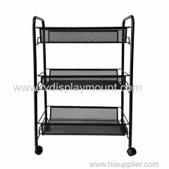 3 Tier Rolling Storage Cart Organizer