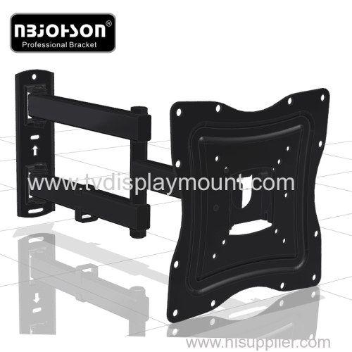 "Full Motion LCD TV Wall Mounts 17""-42"" Screen 180° Swivel"