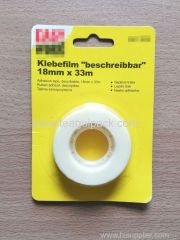 Describable Adhesive Tape 18mmx33M